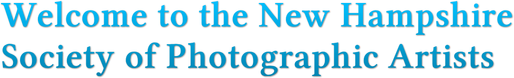 Welcome to the New Hampshire Society of Photographic Artists
